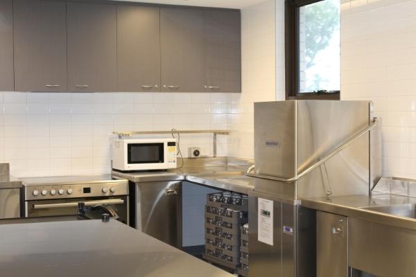 Commercial kitchen-a Berkeley Neighbourhood Centre